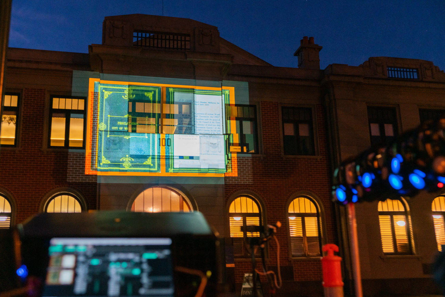 Centenary Projection Tour - Heritage Hobsons Bay Festival 2019