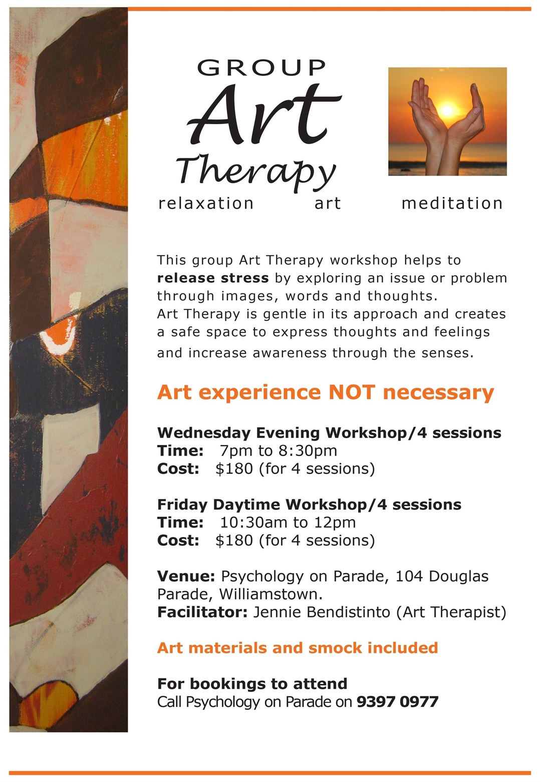 art therapy workshop