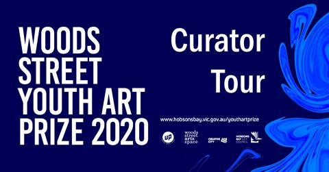 Curator Tour – Woods Street Youth Art Prize 2020